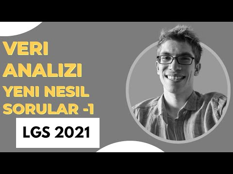 LGS Veri Analizi Yeni Nesil Soru Çözümü -1 |Bilge Rehberim Yayınları