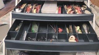 Смотреть видео рыболовный ящик