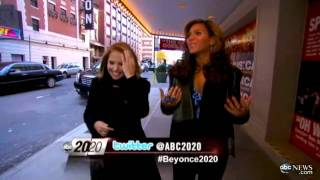 Beyonce Roseland Surprise snippet 20/20 ABC