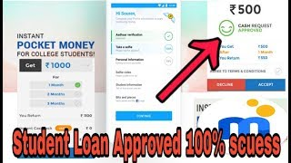 Student loan Instant Paytm Wallet /Bank Account | Mpokket Get loan Rs.500 to Rs15000