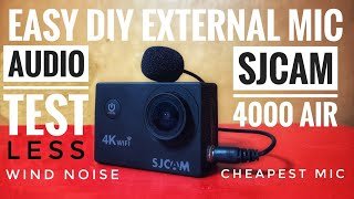 Скачать DIY External Mic For SJCAM 4000 Air