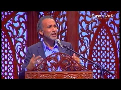 """""""In The Footsteps of the Prophet ; How Muslims should Contribute to the World"""" - Prof Tariq Ramadan"""