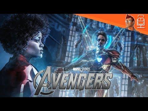 IS Riri Williams aka Iron Heart In Avengers 4