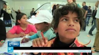 الأردن ـ مكتبة متنقلة في مخيم الأزرق للاجئين