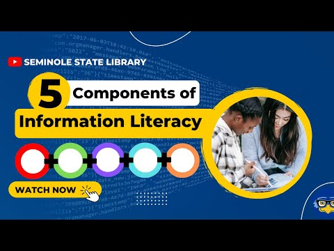 5 Components of Information Literacy