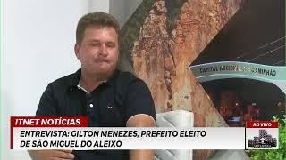 Traficante PRESO em ITABAIANA | Entrevista com GILTON MENEZES, prefeito de São Miguel do ALEIXO
