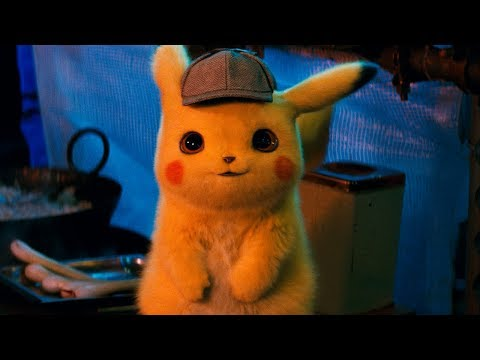 POK脡MON Detective Pikachu - Official Trailer #1
