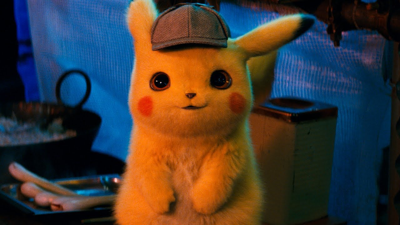 Image result for pikachu detective