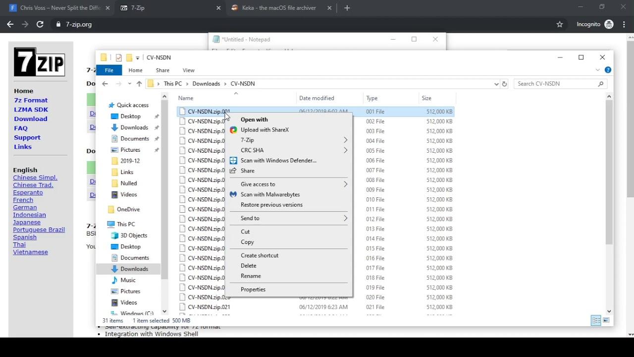 zip extract download