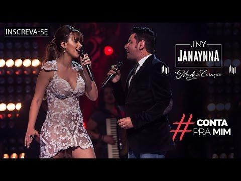 Janaynna - Conta pra Mim part. Léo Magalhães - (DVD Made in Coração) [Vídeo Oficial]
