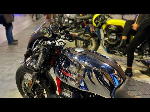 Moto Guzzi Presented