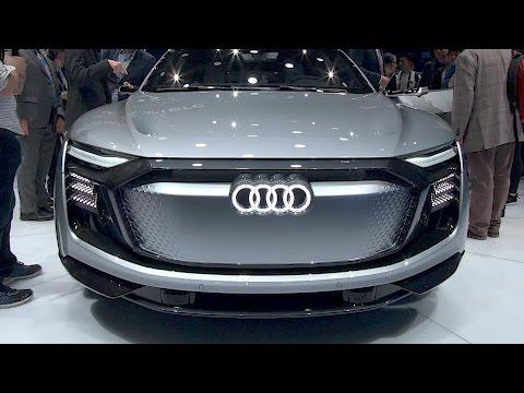 All-new Audi E-Tron Sportback. Shanghai auto show