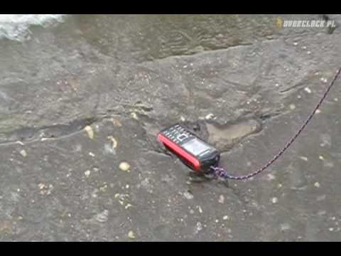 Samsung B2100 Explorer - Test nr 7 - Odporność na wodę