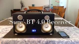 The New 2017 DIY V6.0 BT Speaker Box Boombox Project !!