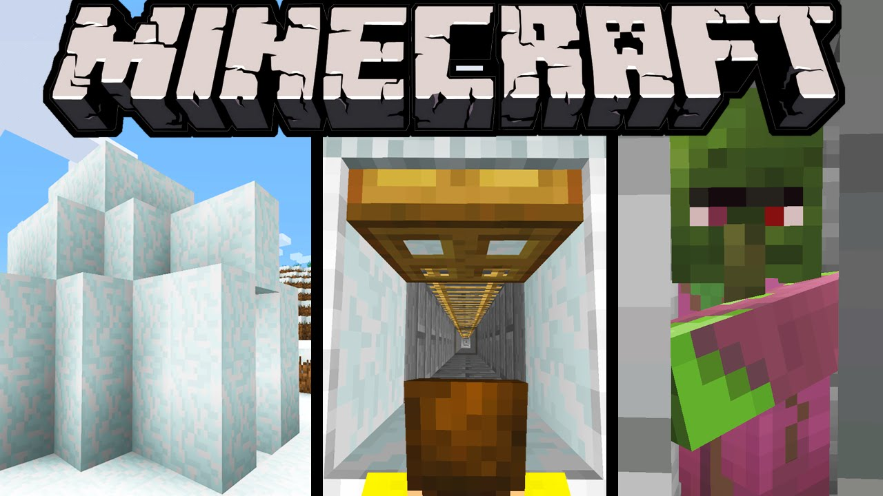 Minecraft 1 9 Snapshot New Igloo Structure Spooky Secret Trapdoor Loot Subtitles Frost Fixes