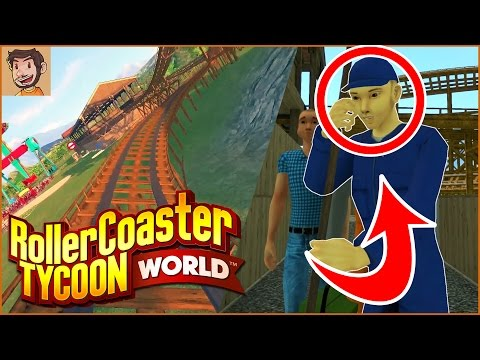Flabaliki Plays: RollerCoaster Tycoon World (RCTW)