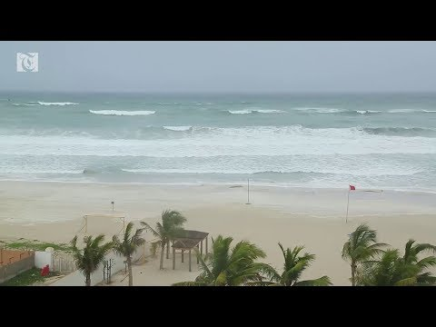 Times of Oman reports from Salalah as Cyclone Mekunu approaches