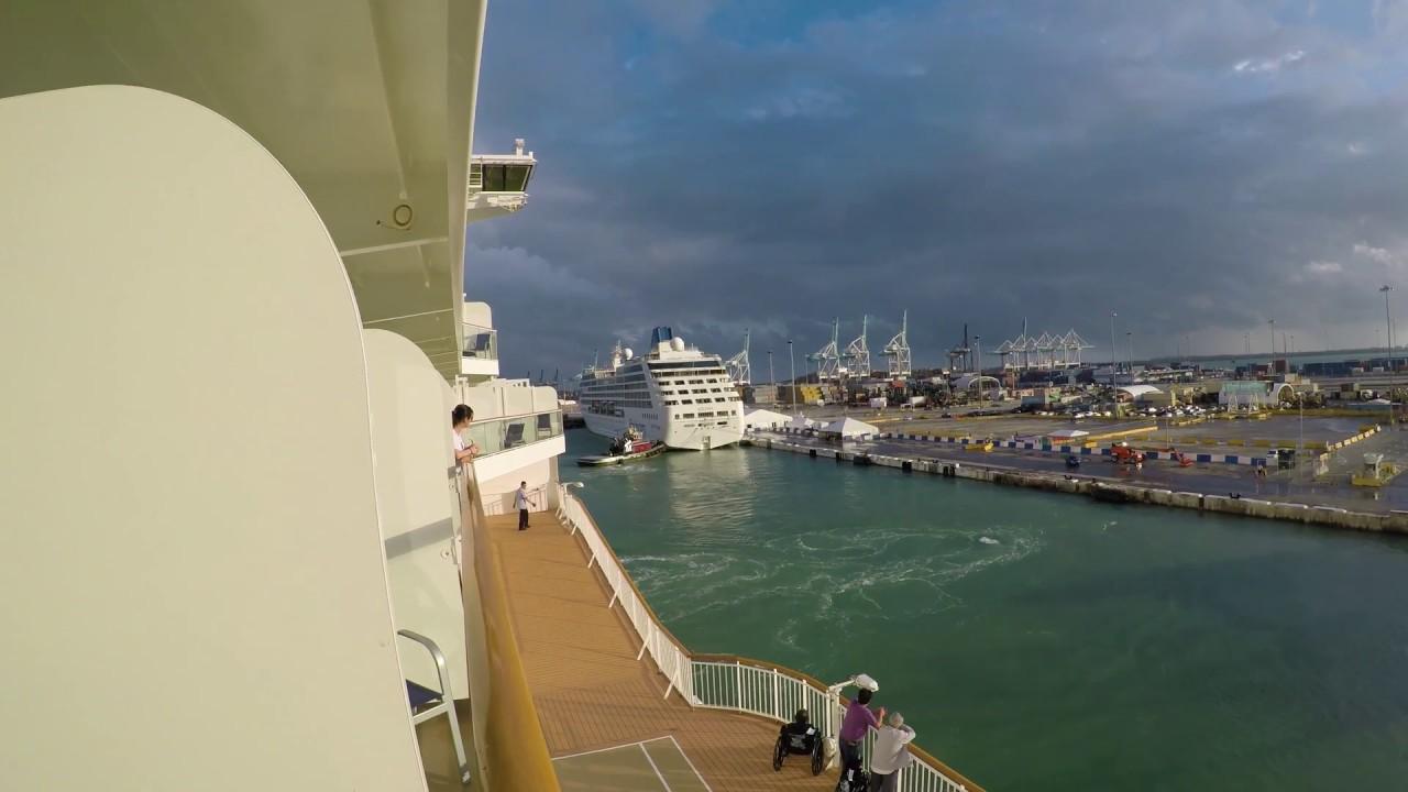 Norwegian Getaway, Balcony Room, Starting a Cruise ...