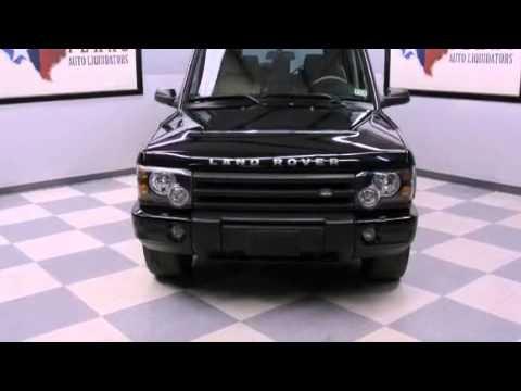2004 Land Rover Discovery Arlington TX