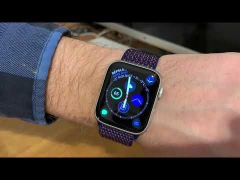Apple Indigo Sportloop Watchband for the Apple Watch unboxing