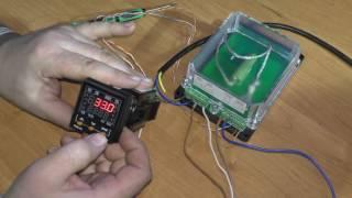 Ручна настроювання ПІД-регулятора на прикладі ТРМ101