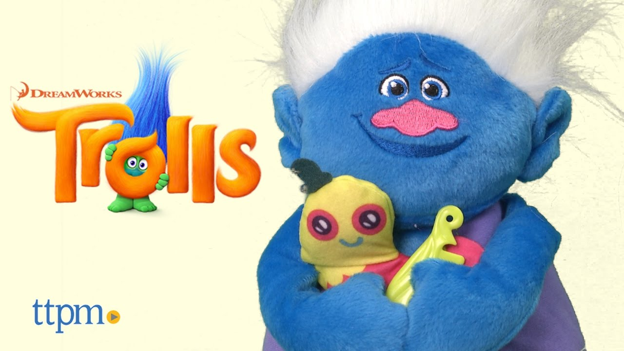 Dreamworks Trolls Biggie Talkin Troll From Hasbro Youtube
