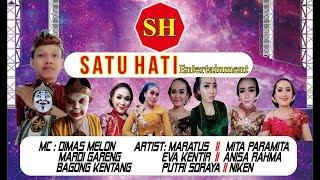 Live SATU HATI Entertainment - BANGUN JATI INDAH - TAMBAKBOYO FAIR 2019