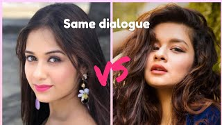 JANNAT ZUBAIR VS AVNEET KAUR | SAME DIALOGUE | WHO IS BEST ??