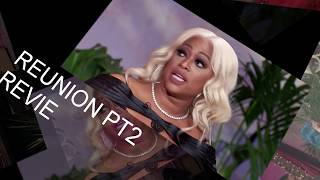 LOVE AND HIP HOP MIAMI S1 REUNION PT2 REVIEW