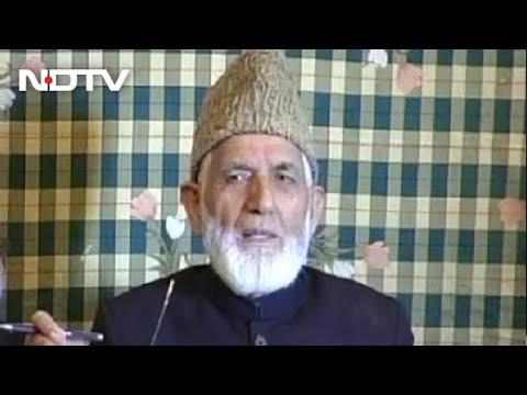 Syed Ali Shah Geelani, Face Of Kashmiri Separatist Politics, Dies At 92