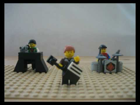 Finding Emo Legos  1 - This video is terrible, here is a better one I did.