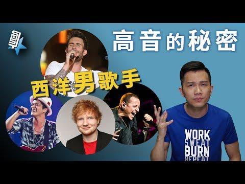 西洋男歌手高音的秘密!(唱歌技巧教學#60)|SV科學歌唱