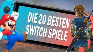 Die 20 meistgespielten Nintendo Switch Spiele 😱