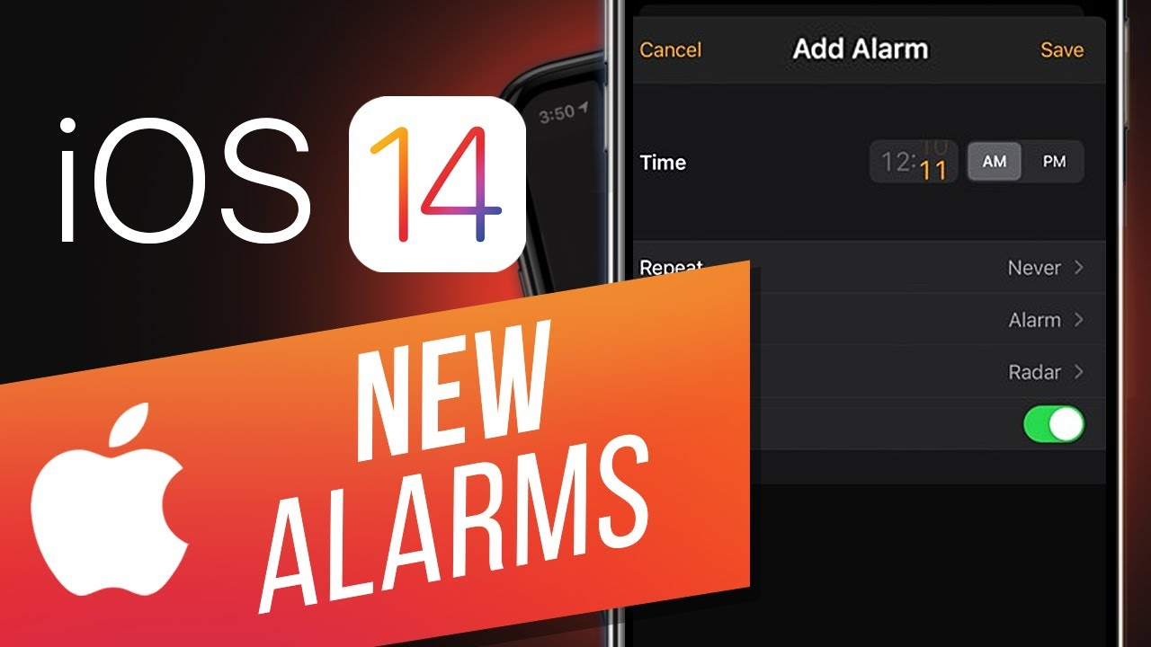 iOS 14: How to Use the New iPhone Alarms   How to Use the Alarm Clock on Your iPhone