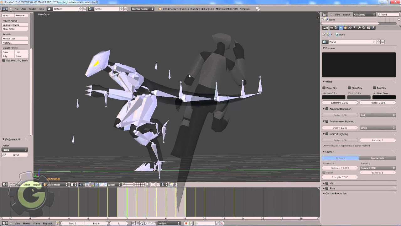 Game maker color blend - Game Maker 8 3d Blender Animation Rig And Model Import With Blender Materials Youtube