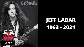 Cinderella Guitarist Jeff Labar Passes Away At 58