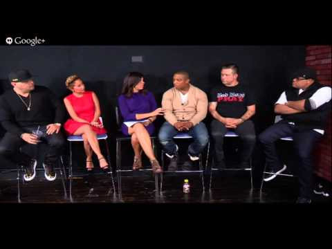 "The Conversation featuring Soledad O'Brien ""I'm in Love with a Church Girl"" Cast"