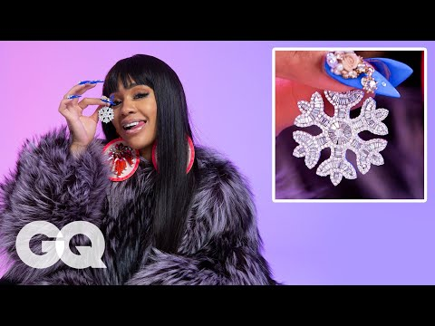 ICY GRL Saweetie Shows Off Her Insane Jewelry Collection | GQ