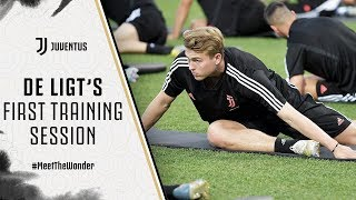 DE LIGT'S FIRST TRAINING SESSION | Juventus Summer Tour 2019