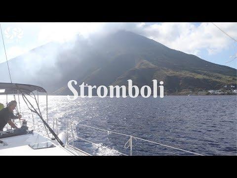 STROMBOLI Aeolian Islands Sicily SeaTV sailing channel