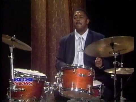 Chuck McPherson & Funky Drummer Quartet: KUSA-TV News, San D