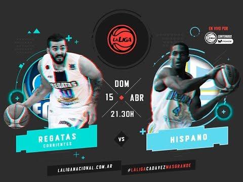 Liga Nacional: Regatas vs. Hispano | #LaLigaEnTyCSports