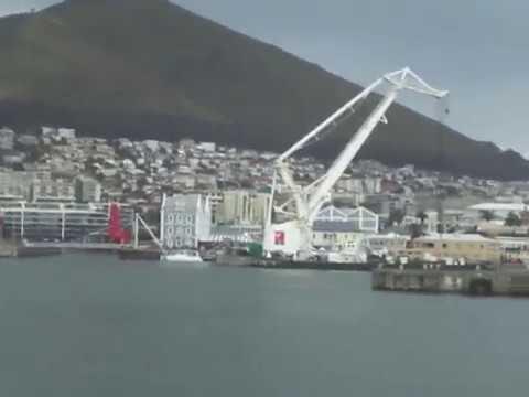 Pelabuhan Cape Town Afrika Selatan Port Harbor