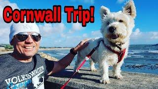 VW Campervan Cornwall Trip