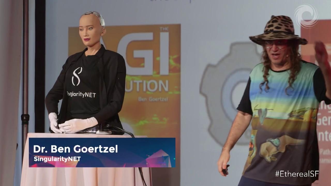 Artificial Intelligence Robotics Blockchain Dr Ben Goertzel