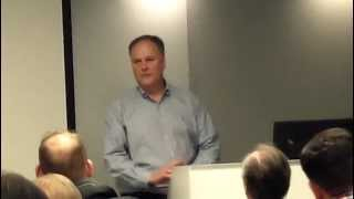 Boston SEO Speaker Introduction to Domain Broker Expert Dave Evanson