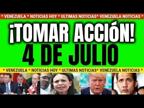NOTICIAS DE HOY VENEZUELA 4 DE JULIO 2019 LLAMADO A GUAIDO VENEZUELA NOTICIAS HOY