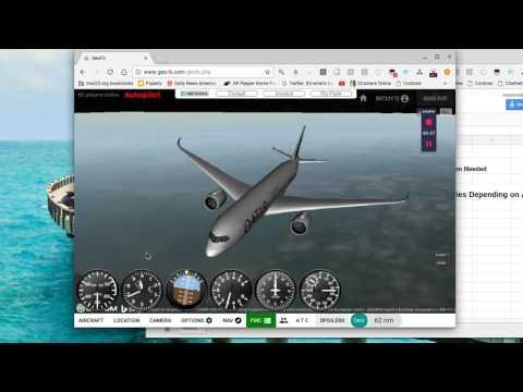 Geofs flight KGRR-KMSP