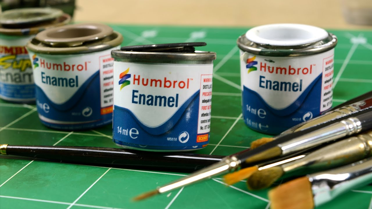 How to Clean Enamel Paint images