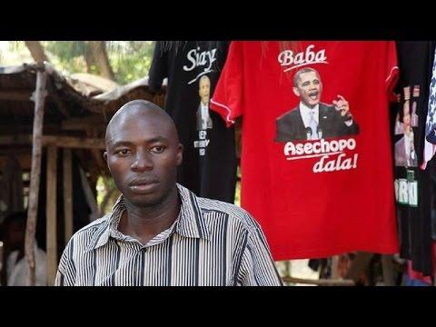 Emoción en la aldea ancestral de Obama en Kenia por visita